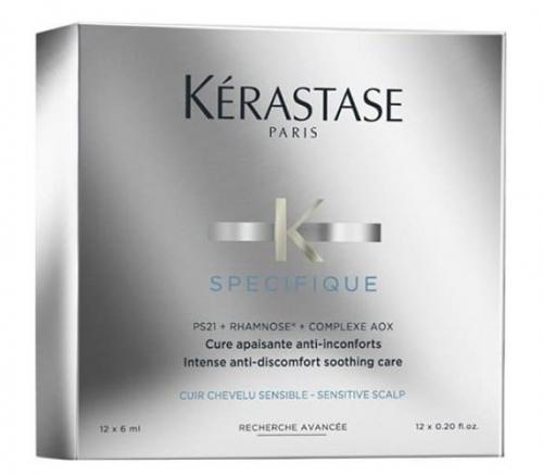 Kerastase Specifique Cure Apaisante - Ампулы для чувствительной кожи головы 12 х 6 мл