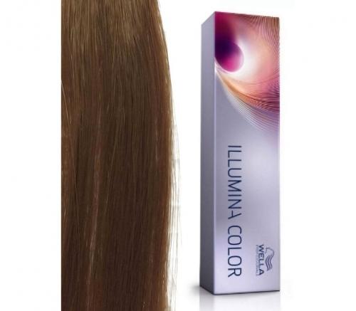 Wella Professional Illumina Color 6/37 темный блонд золотисто-коричневый 60 мл