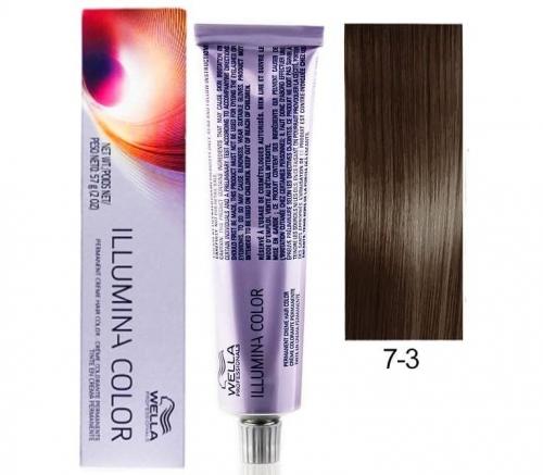 Wella Professional Illumina Color 7/3 Блонд золотистый 60 мл