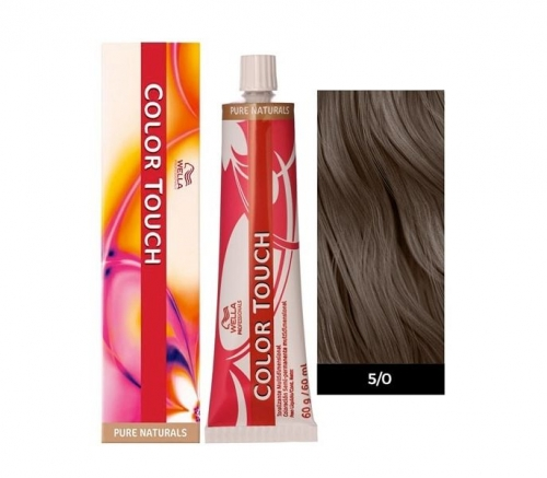 Wella Color Touch 5/0 светло-коричневый 60 мл