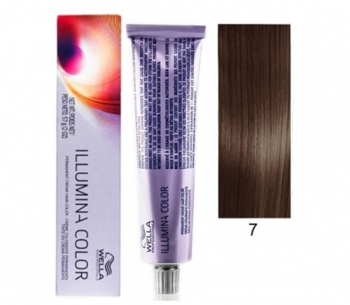 Wella Professional Illumina Color 7/ Блонд 60 мл