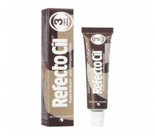 RefectoCil - Краска для бровей и ресниц № 3 Коричневый 15 мл
