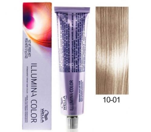 Wella Professional Illumina Color 10/1 Яркий блонд пепельный 60 мл