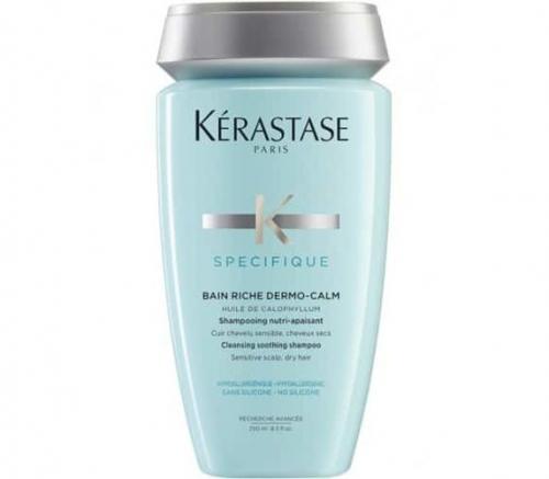 Kerastase Specifique Dermo Calm - Шампунь-Ванна для чувствительной кожи головы и сухих волос 250 мл
