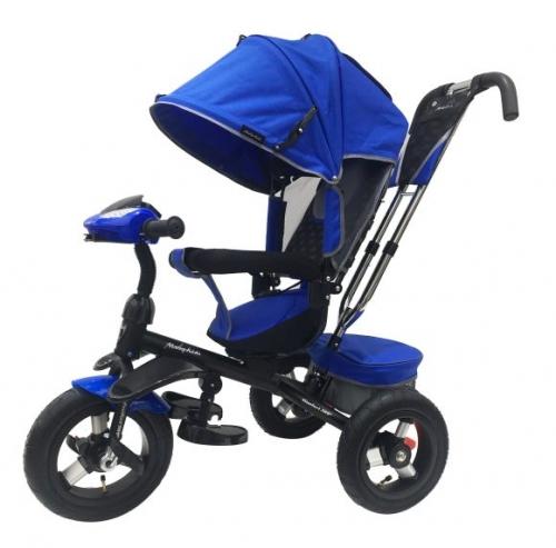 Велосипед 3кол. Comfort 360° 12x10 AIR, син.