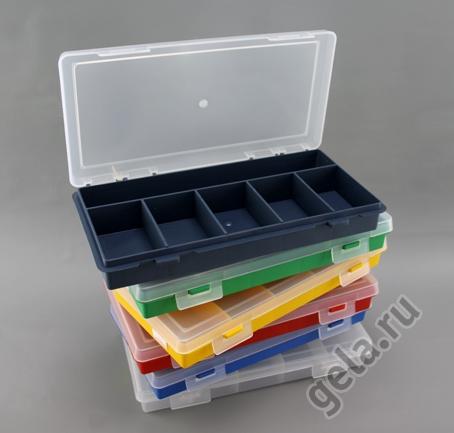 Органайзер для хранения фурнитуры, тип 2406, 6 ячеек