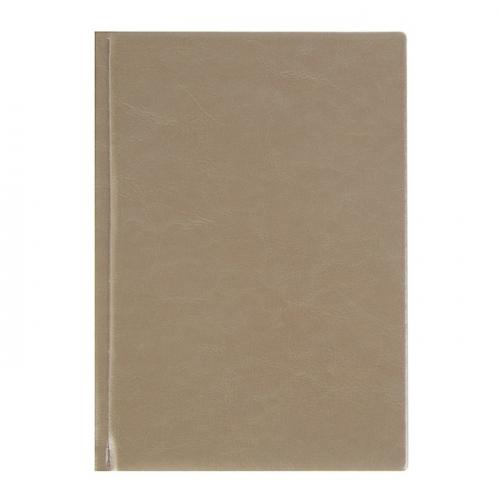 Ежедневник недатированный А5, 160 листов «Виладж», искусственная кожа, светло-коричневый