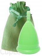 Менструальная чаша в льняном мешочке