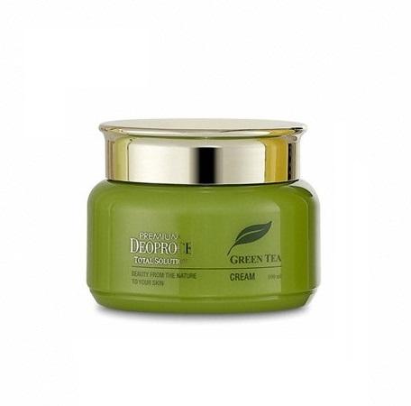 Крем на основе зеленого чая Deoproce Premium Green Tea Total Solution Cream 100ml