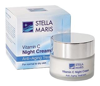 Ночной крем для кожи лица с витамином С