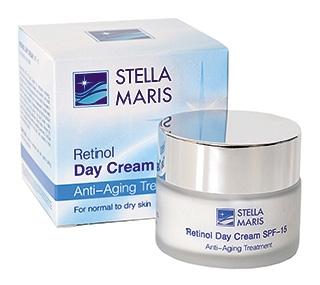 Активный дневной крем для кожи лица с ретинолом (SPF-15)