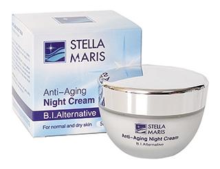 Ночной антивозрастной крем для кожи лица