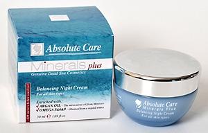Балансирующий ночной крем для лица Minerals Plus