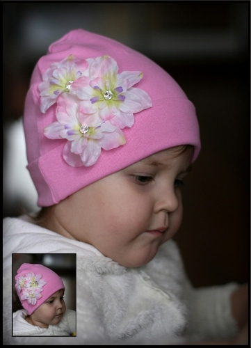 Розовая шапочка Луиза…