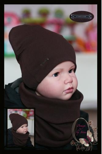 Удл. шапка для мальчика «P-erfection» (кор)