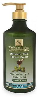 Увлажняющий крем для душа оливковое масло и мед