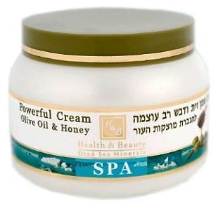 Питательный увлажняющий универсальный крем оливковое масло и мед