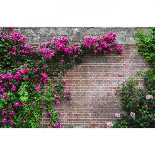 Фотосетка «Кирпичная стена», 250 х 158 см, с фотопечатью
