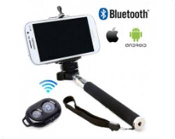 250р.302р. Штатив с Bluetooth для создания снимков selfie