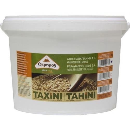 Акция! 3 кг, Тахини (кунжутная паста) НАТУРАЛЬНАЯ