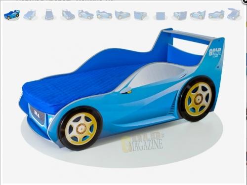Детская кровать машина R1