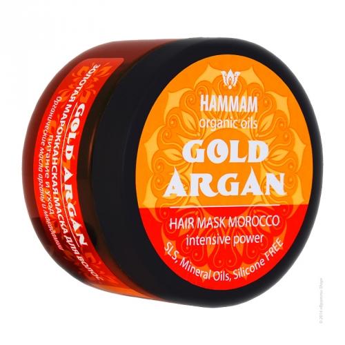 """Золотая марокканская маска для волос «Gold Argan """"Питание и уход""""» питание и уход"""