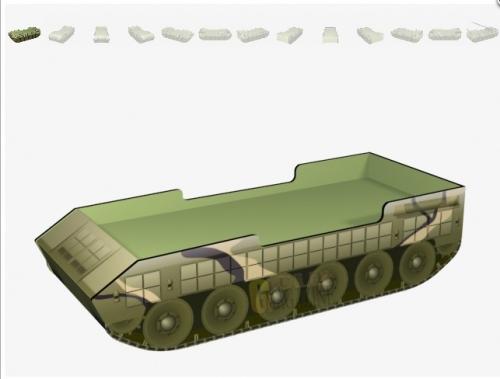 Кровать танк Taiga