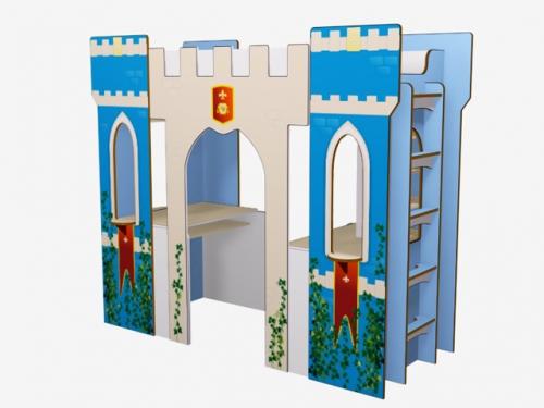 Кровать-чердак Dragon Tower