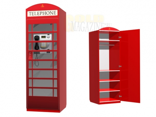 Шкаф детский Telephone