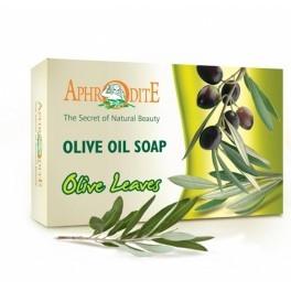 Мыло оливковое с листьями оливы