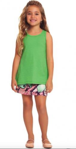 Блузка (Зеленый)