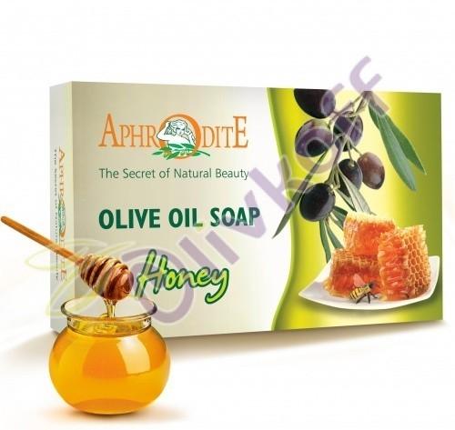 Мыло оливковое с медом и ванилью