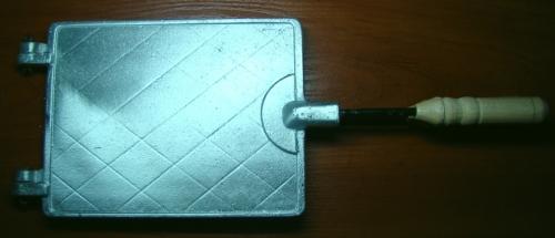 Форма для выпечки вафель прямоугольных