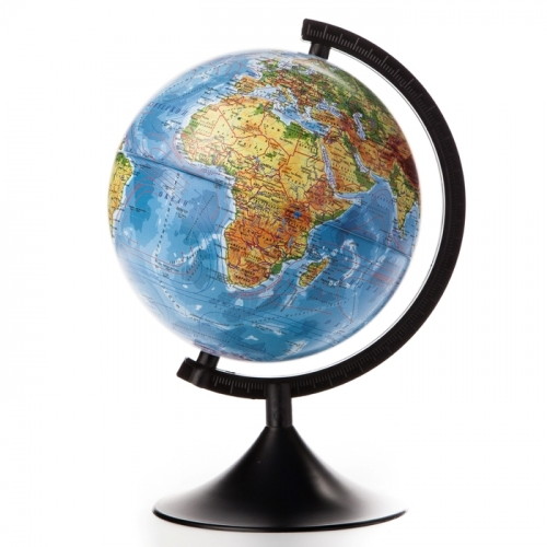 Глобус физический диаметр 210мм