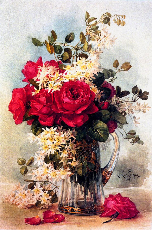 Молодым картинки, картины и открытки розы