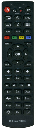 Пульт для Ростелеком MAG-250 HD IPTV