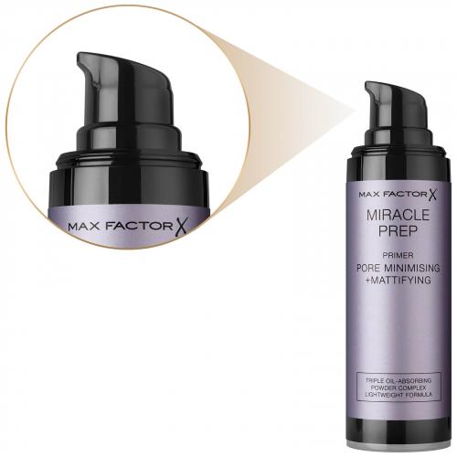 МФ Праймер для лица Miracle Pore minimising + mattifying тон розовый