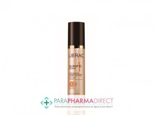 Lierac Sunific 1 Solaire Crème Velours Visage et Décolleté SPF30 50ml