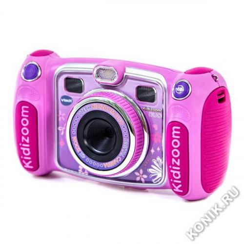 цифровая камера Kidizoom duo розового цвета