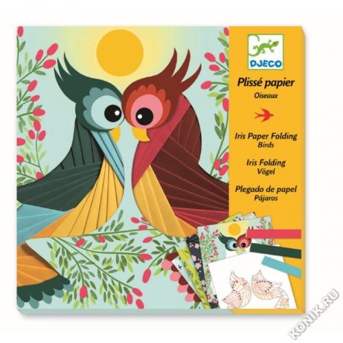 Набор для творчества Бумажный декор Птички