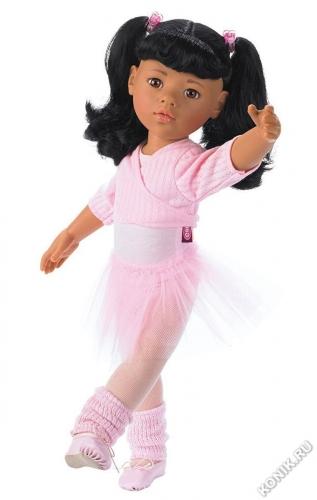 Кукла Ханна балерина, азиатка, 50 см