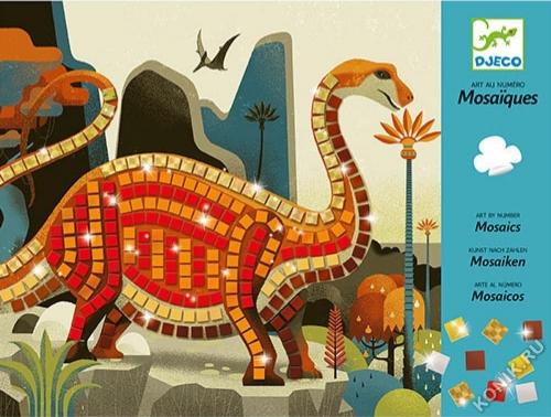 Набор для творчества Мозаика Динозаврики