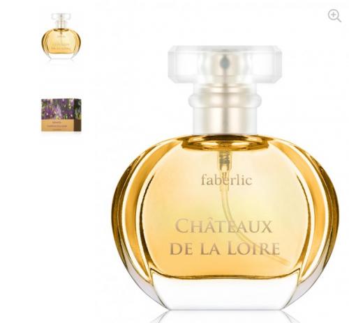 207р  600р Парфюмерная вода для женщин Chateaux de la Loire