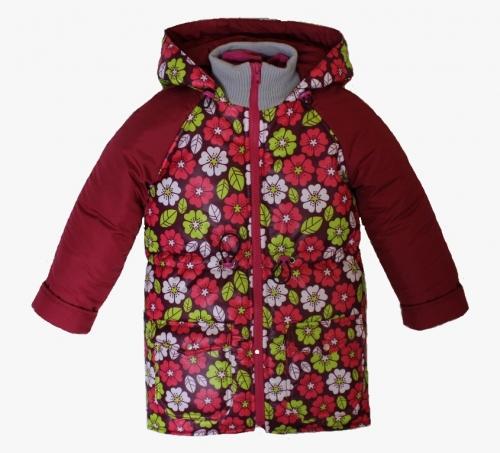Куртка демисезонная для девочкиарт. 1251 (104)
