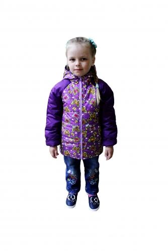 Куртка демисезонная для девочкиарт. 1106 (104)