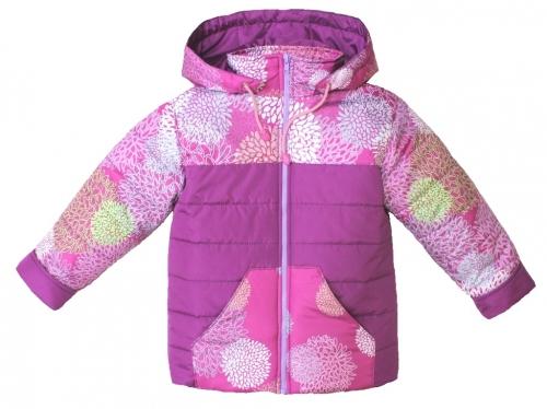 Куртка демисезонная для девочки арт. 1055 (98-104)