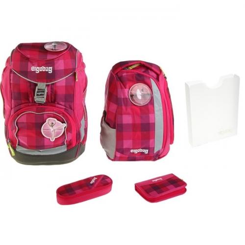 Рюкзак школьный эргономичная спинка для девочки Ergobag 40*25*20 PrimBear Ballerina наполнение: 4 предмета, set-001-918