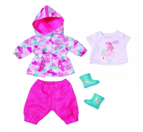 Игрушка BABY born Одежда для дождливой погоды, кор.