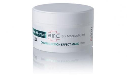 Маска для жирной и комбинированной кожи/ Double Action Effect Mask, 200мл