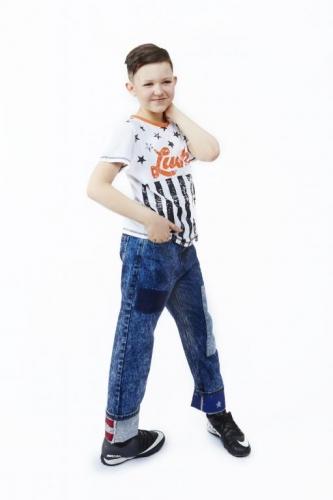 Джинсы для мальчиков 18-2001-TG
